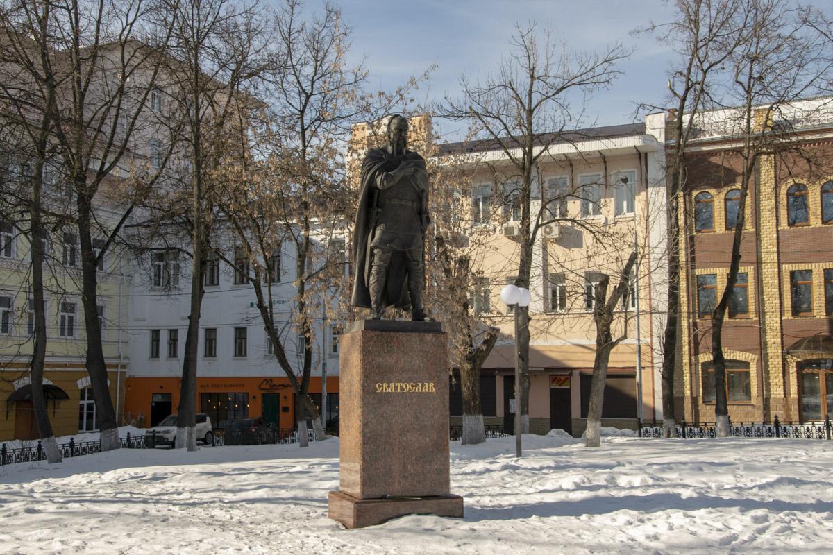 Серпухов, март